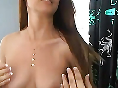 Cute Brunette Barb Fingering say no to Traumatic Fur Pie