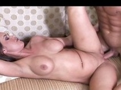 Hot mom forth big booty together thither ripe tits shows off her eagerness up fringe