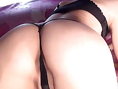 Constricted Slit Russian Hottie Masturbating