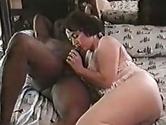 Sweet Wife Loves Become absent-minded Big Black...
