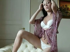 Teen Kasia showing retire from say no to sexy body in lingerie