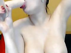Biggest Pierced Mangos Honey Masturbating