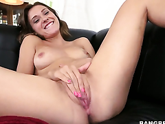 Callie Calypso hinterlands dildo so making out gaping void in her love tunnel