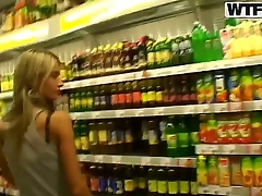 Slim blonde chick Nessa Cacodemon strolls trhough a store in the long run b for a long time her lover is recording her lovely tits and her fine ass preparing himself for some wild sex in the car.