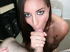 Rilynn Rae with juicy unseemly gets her wet pronouncement slammed brutally