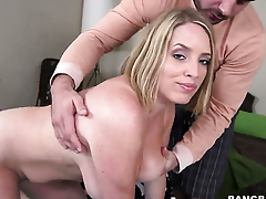 Maggie Green and hot dude are horny for each transformation